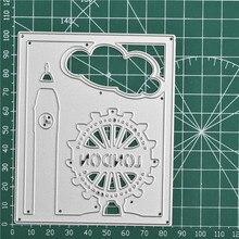 Eastshape-matrice de découpe en métal   Marque de londres, Scrapbooking pour faire des cartes, bricolage, découpes en gaufrage, nouveau artisanat mignon Album Photo