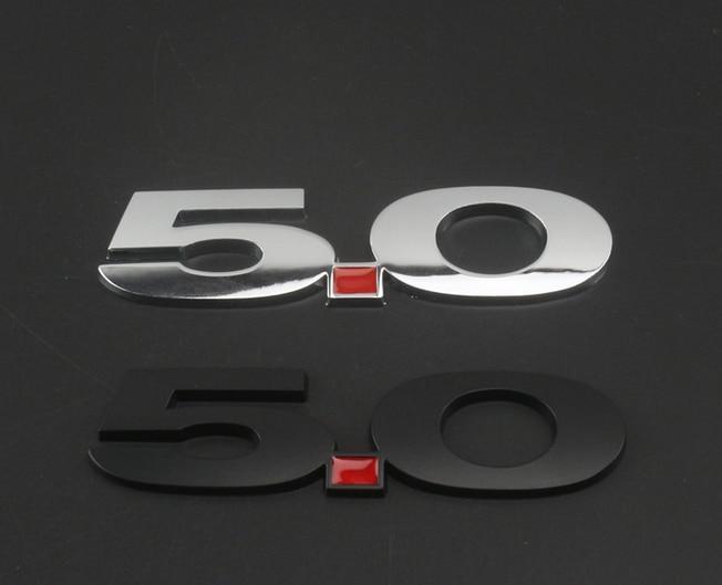 3D авто модифицированный Металл 5,0 Автомобильный багажник боковое уплотнение наклейка значок автомобильные аксессуары