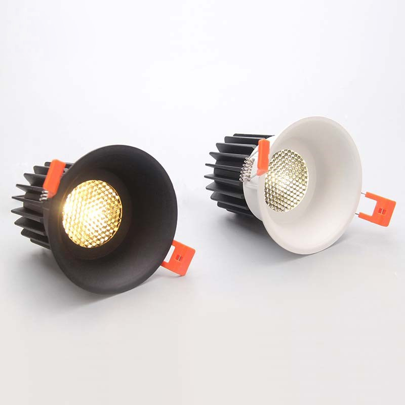 مصباح سقف LED مضاد للوهج ، إضاءة داخلية ، ضوء خافت للغاية ، مثالي لغرفة المعيشة أو غرفة النوم ، 10 وات ، 110 فولت ، 230 فولت