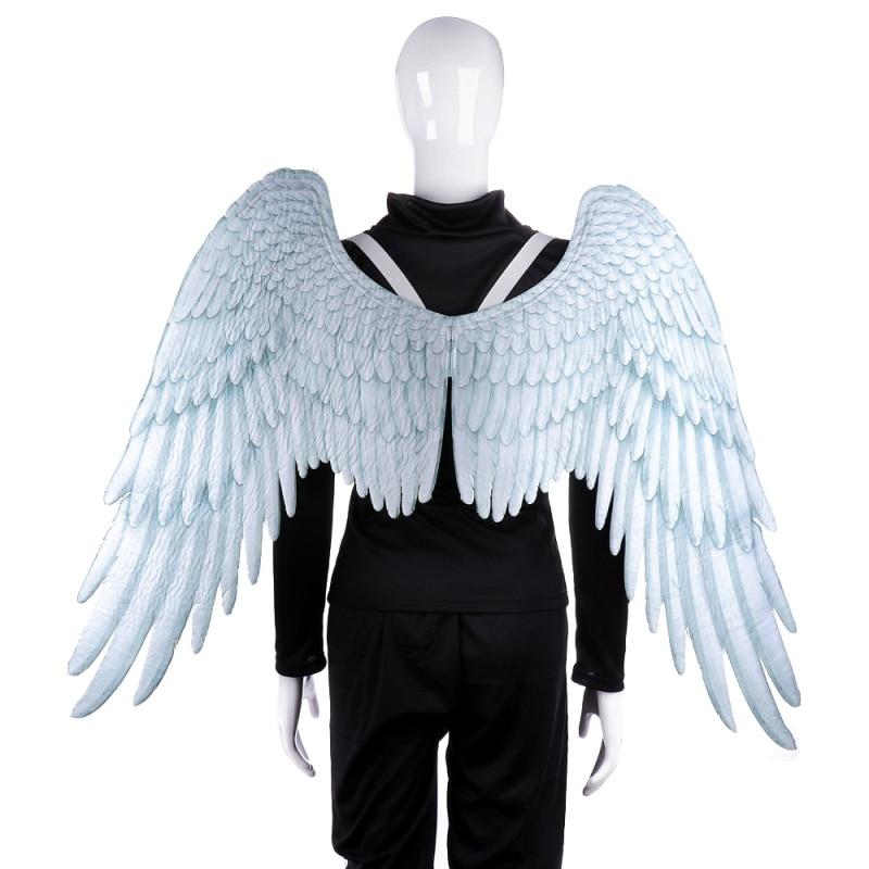 3D alas de Ángel Halloween tema Fiesta Cosplay accesorios de disfraz para adultos hombres mujeres alas decoración de Halloween