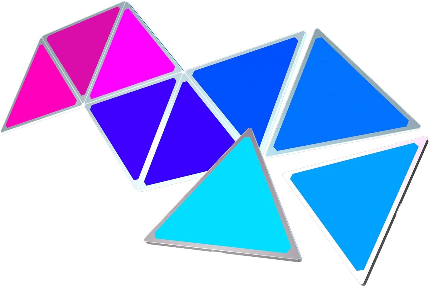 Smart LED Wall Light Tiles Light Panels WiFi Lighting Lamp Rhythm Edition Smarter Kit for Office Home Decoration enlarge
