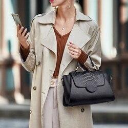 Zooler novo exclusivo projetado sacos de couro genuíno para meninas moda feminina bolsas de couro bolsas ombro elegante wg222
