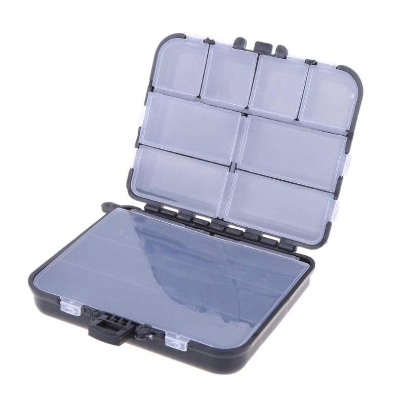Aparejos de pesca de cebo con reclamación, caja de almacenamiento impermeable con 26 compartimentos