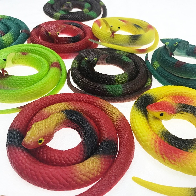 Искусственная резиновая мягкая змея обманывает Новинка Детская игрушки-приколы сюрприз для мальчиков интересная игрушка змея подарок для ...