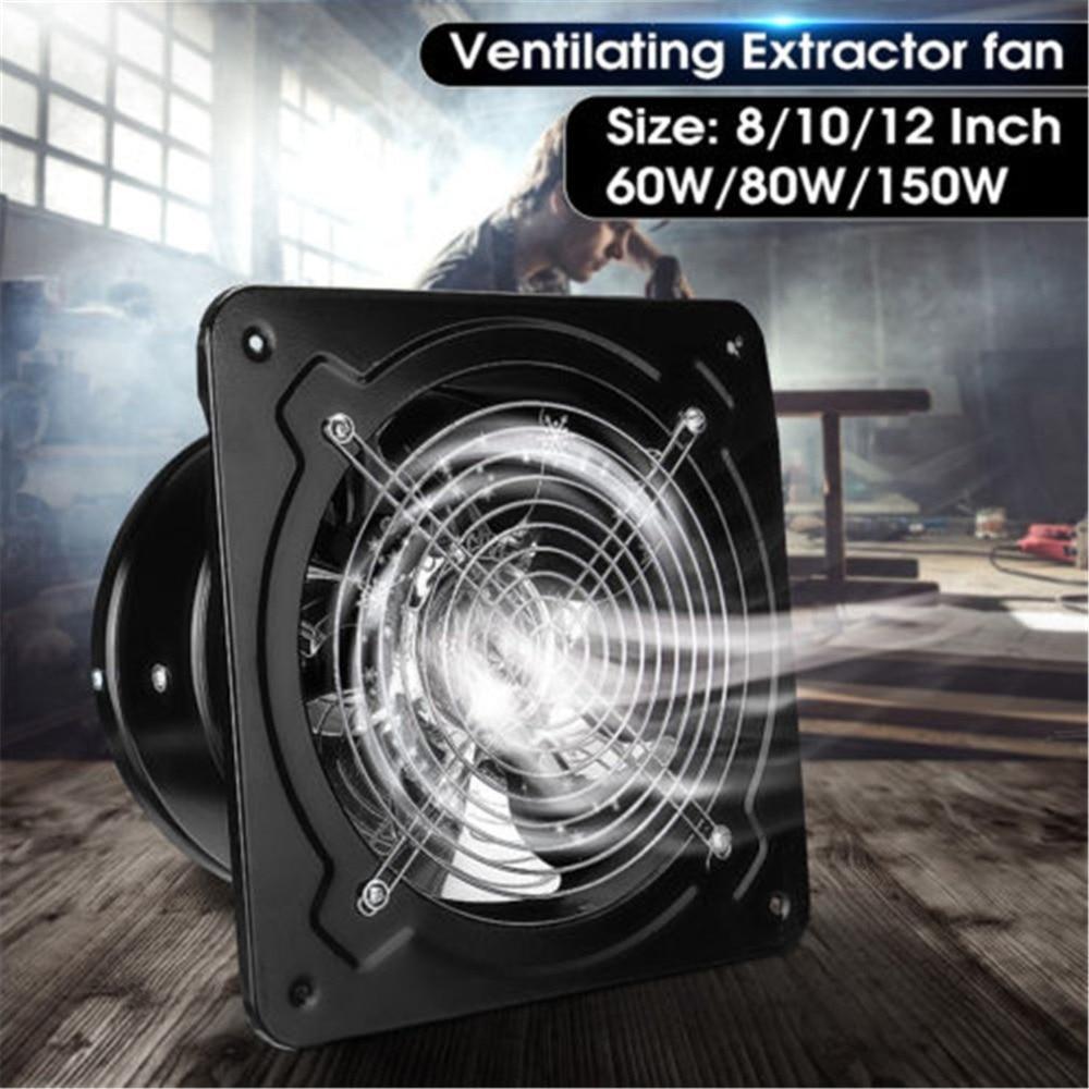 Industrial Ventilation Kitchen Toilet Exhaust Fans Extractor Metal Exhaust Commercial Air Blower Fan Axial Fan 4