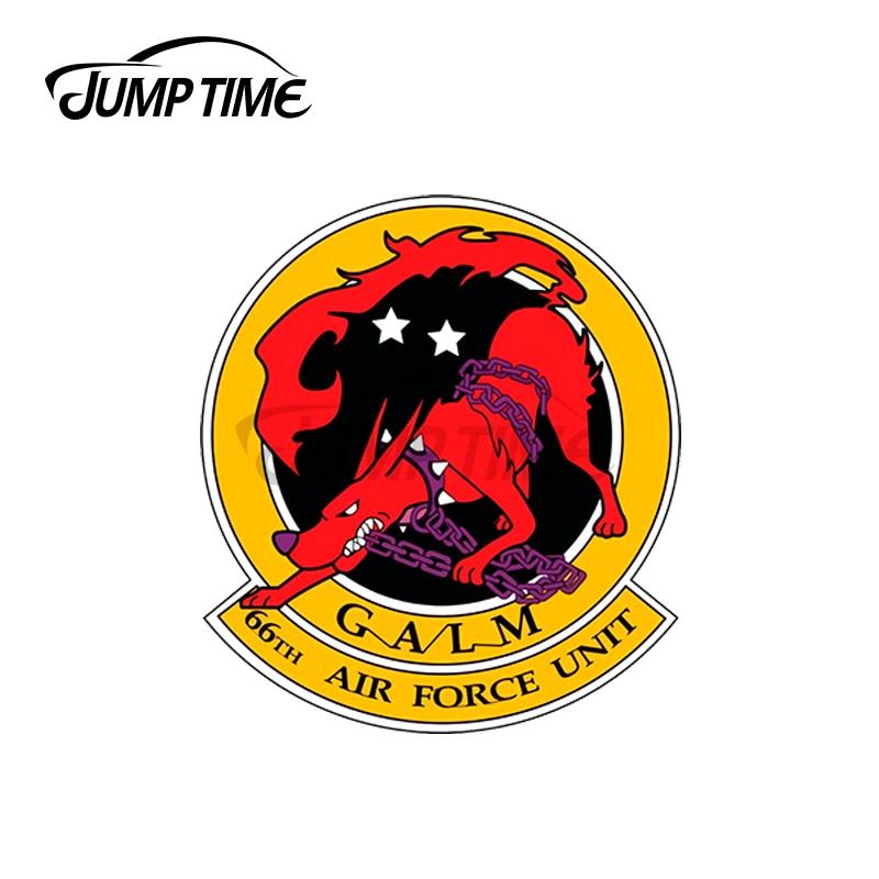 JumpTime-pegatinas de vinilo para ventana de coche, calcomanía de tronco, oclusión, rayado,...