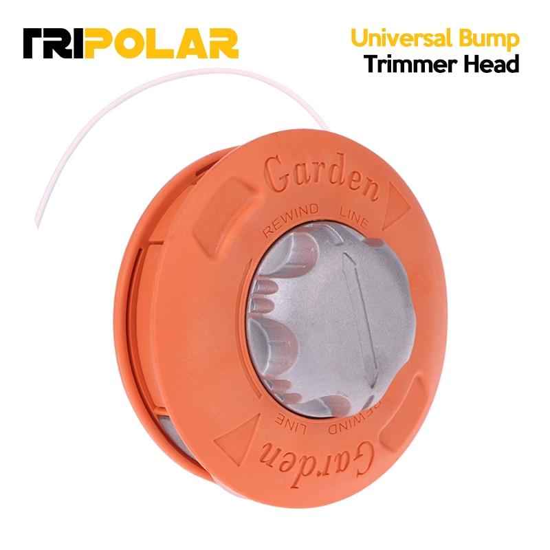 Universal Bump Feed Line Trimmer Head Aluminum Strimmer Grass Brush Cutter Parts  dropshipping