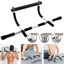Gymnastique tirer vers le haut assis barre de porte Portable menton-Up pour le haut du corps entraînement porte gymnase et Fitness accessoires équipement
