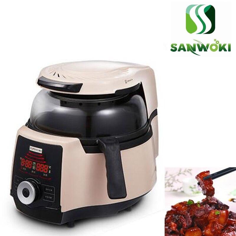Inteligentny nieprzywierający garnek jajko smażone ryż gotowanie kuchenka robot automatyczne urządzenie do gotowania maszyna do smażenia gotowanie mieszarka