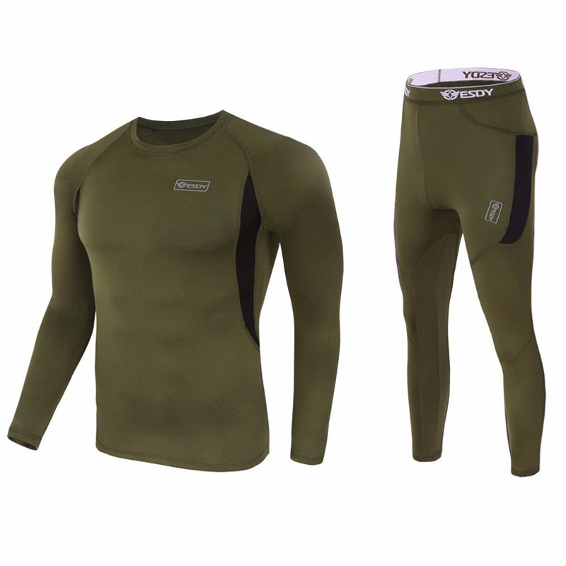 2020 New Thickening Thermal Underwear Winter Clothing Compression Polyester Fleece Sweat Quick Drying Thermo Men Casual Trousers top quality new thermal underwear men underwear sets compression fleece sweat quick drying thermo underwear men clothing s 3xl