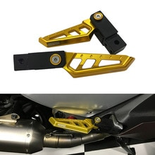 Repose-pieds de moto repose-pieds   Repose-pieds de passagers arrière rotatifs, plaques pour Yamaha XMAX 300 xmax 400 xmax 125 xmax 250 XMAX 2017 2020-