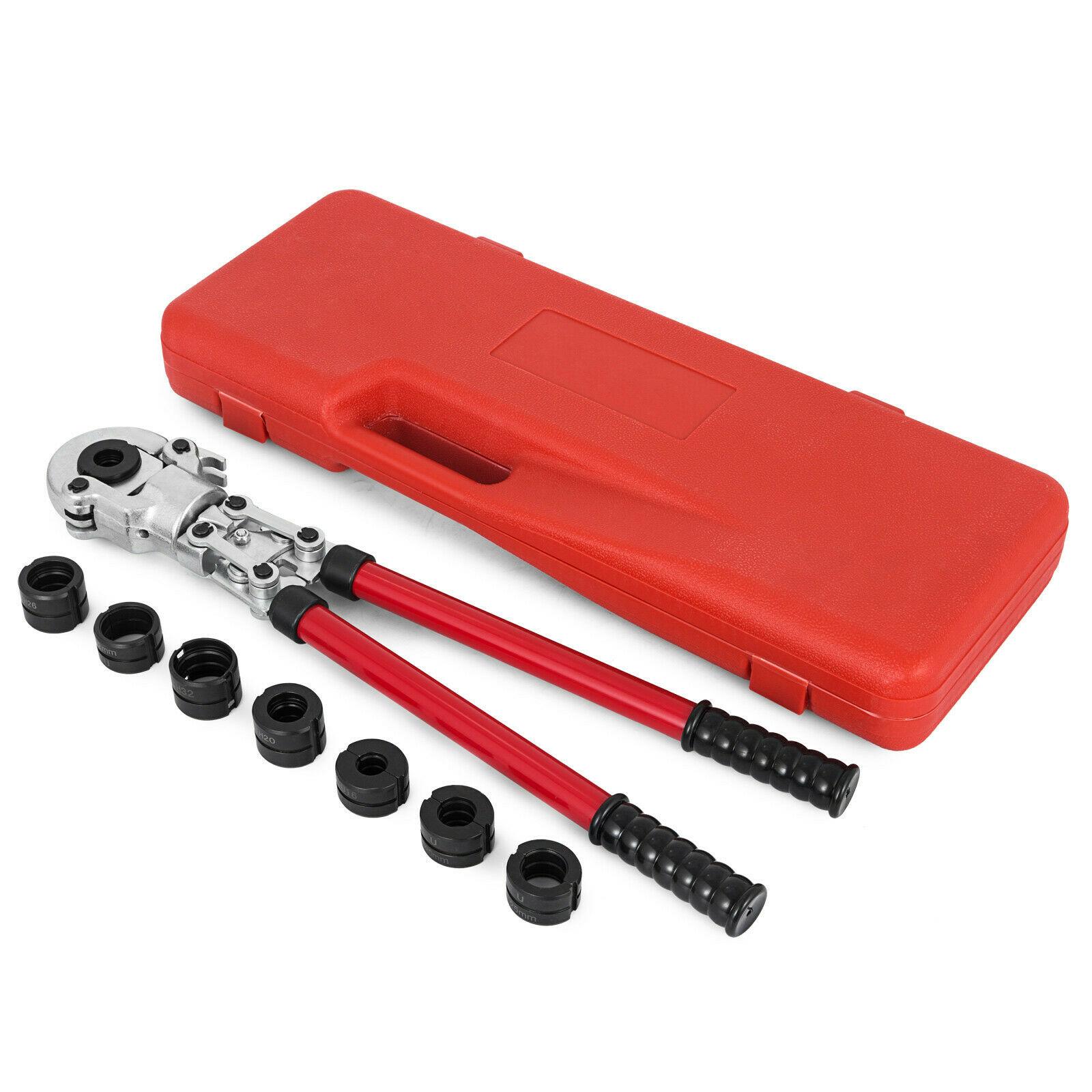 Pinzas de prensado de tubo VEVOR Pex-Al-Pex 16-32mm pinzas de presión compuestas TH25 TH32