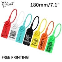 100 шт., одноразовые пластиковые этикетки для одежды, 180 мм/7,1 дюйма