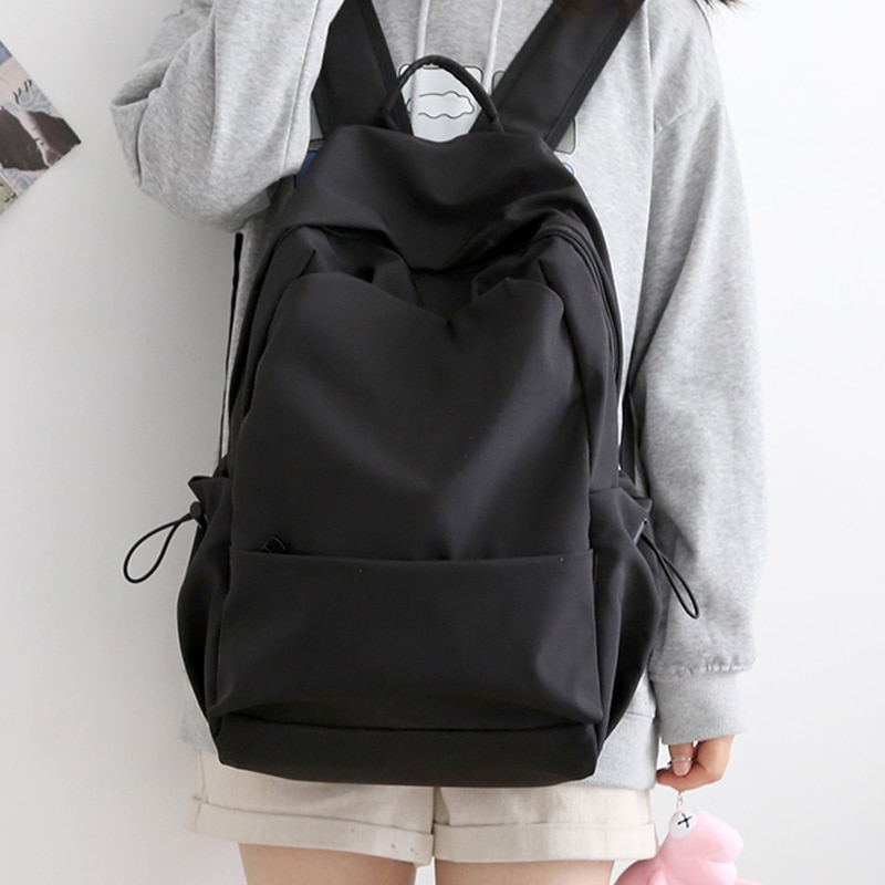 Big Capacity Women Oxford Backpacks High Middle School Boys College Book Bags Travel  Out Door