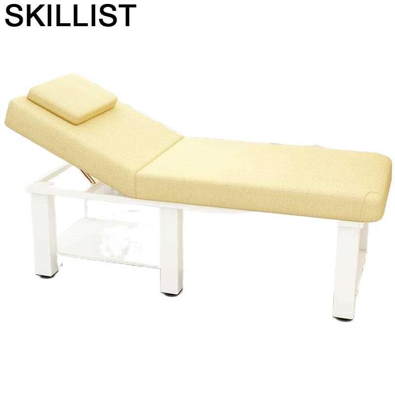 Masajaggio-Silla Masajeadora Plegable, Mueble De belleza, mesa, cama De Masaje