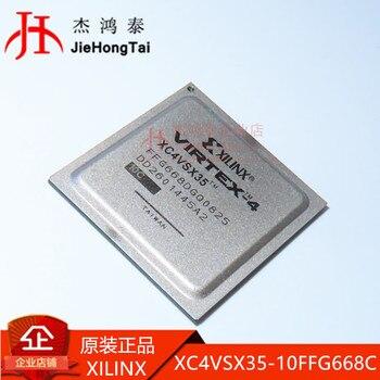 Free shipping   XC4VSX35-10FFG668C BGA668 -  10PCS