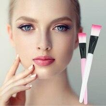 1Pcs/5Pcs New Facial Mask Brush DIY Cosmetic Beauty Soft Concealer Brush Women Skin Face Care For Gi