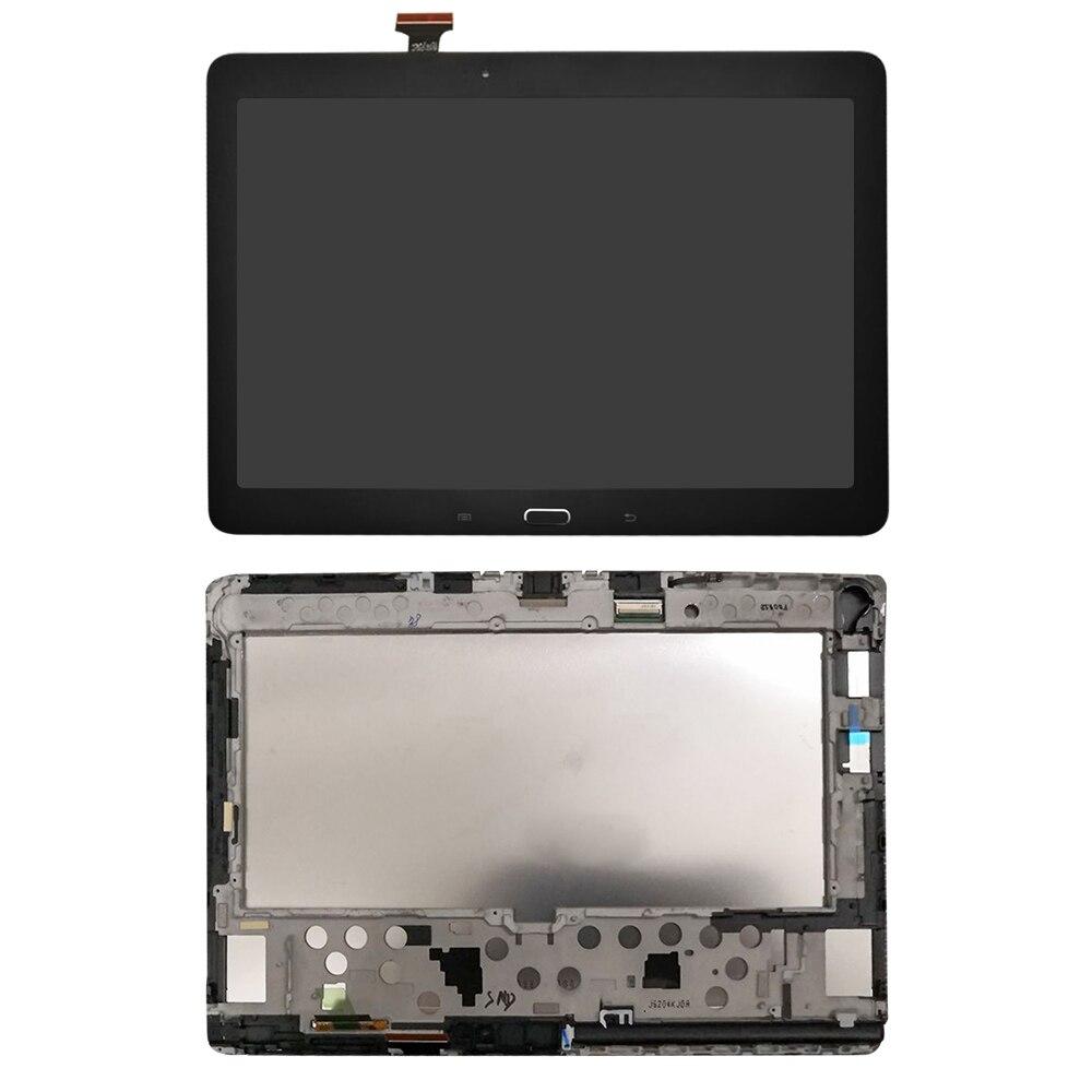 Pantalla LCD AAA + de calidad para Samsung Galaxy Note 10,1 SM-P600 P605 P600 LCD pantalla táctil digitalizador reemplazo + marco