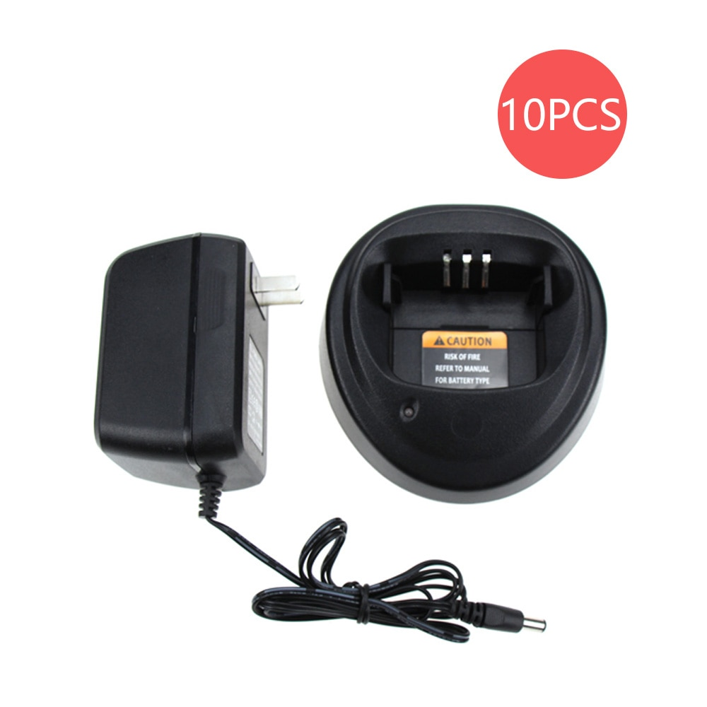 10X Walkie Talkie Charger For Motorola Radios CP040 CP140 CP150 CP160 CP180 CP340 CP360 CP380 EP450 GP3138 GP3688 PM400 PR400