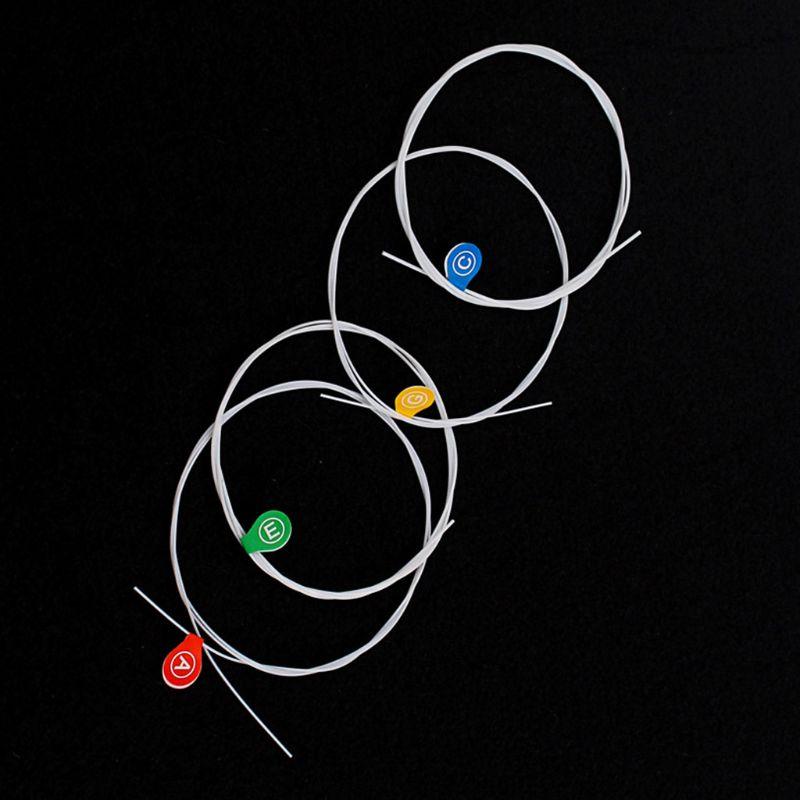 4 Uds cuerdas para 21/23/26/28 pulgadas 4 cuerdas Ukulele M68D