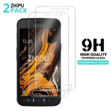 2Pcs Tempered Glass For Samsung Galaxy Xcover 5 4 4s 3 2 Screen Protector Tempered Glass For Samsung