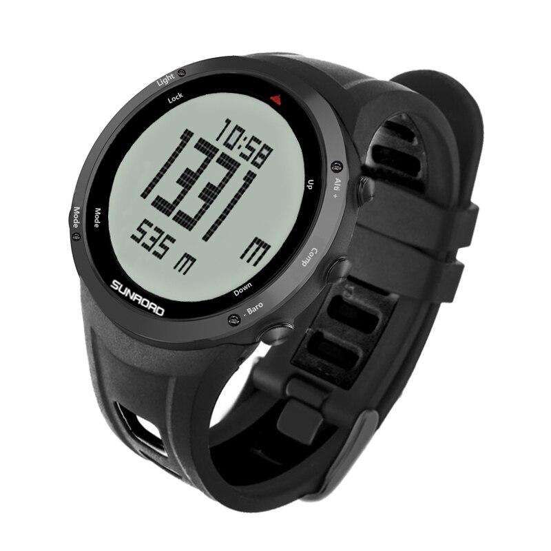 Reloj Digital para hombre, con altímetro, barómetro, brújula, podómetro, cronómetro, cronómetro, para...