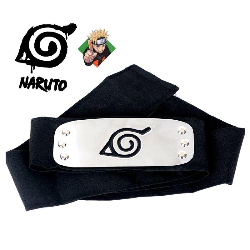 Anime Naruto bandage naruto headband konoha cosplay props Uzumaki Kakashi akatsuki uchiha itachi Sasuke Costume Accessories