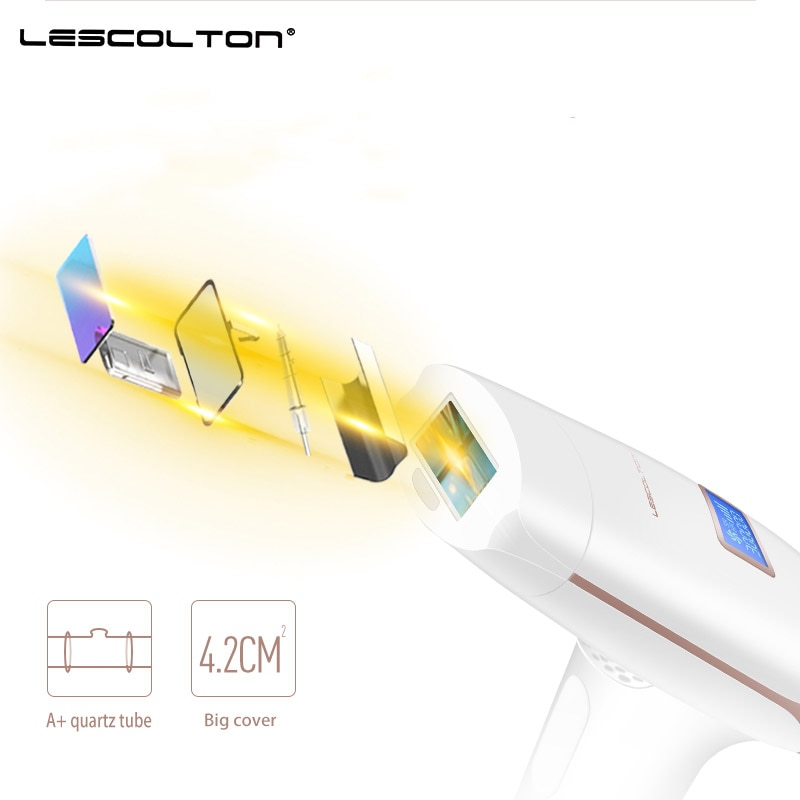 LESCOLTON Permanent IPL Epilator Machine for Women LCD Display Permanent Bikini Trimmer Electric Depilador a Laser Photoepilator enlarge