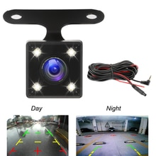 Car Rear View Camera Auto DVR Camcorder 2.5mm 4Pin Jack Video Port With LED Night Vision For GS63H M