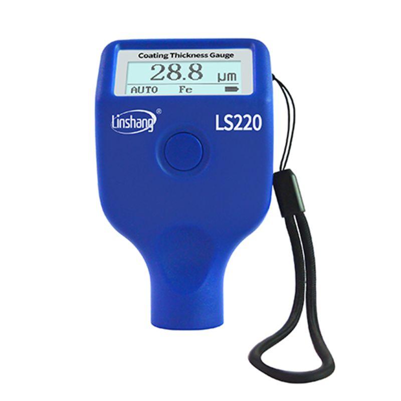 تغليف الطلاء أداة قياس السمك 0-2000um 0.1um Fe NFe التحقيق مقياس LS220 للسيارات السيارات
