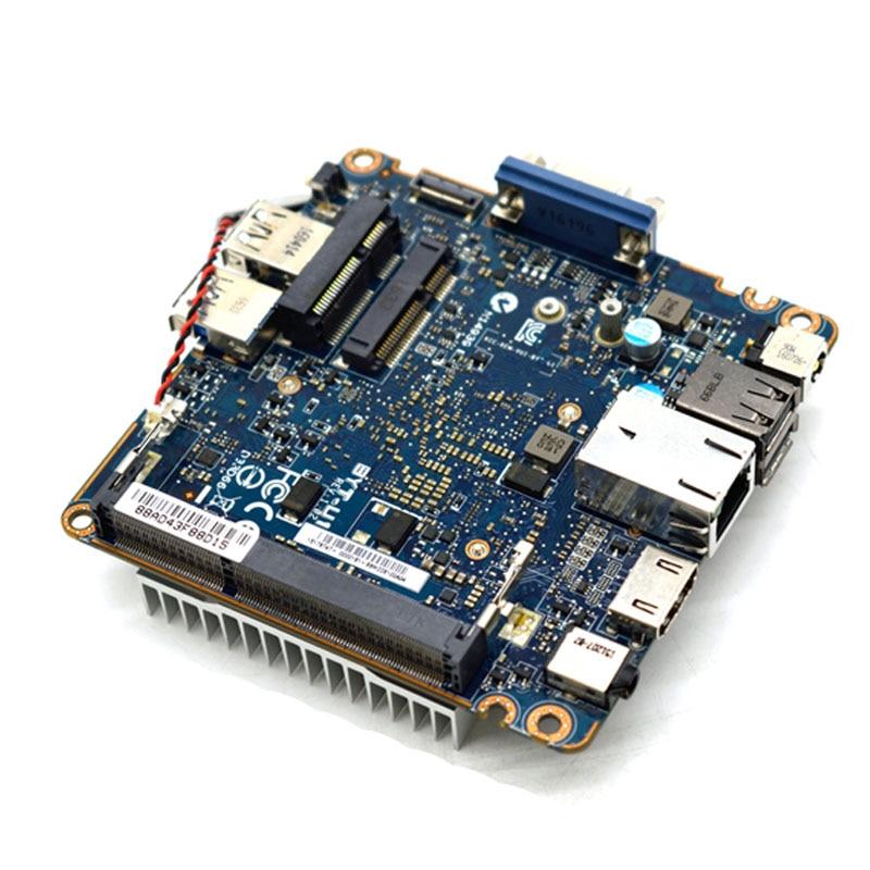ل BYT-U1 المتكاملة N2840 12*12 سنتيمتر مصغرة DDR3 التحكم الصناعي باستخدام الحاسب الآلي تستخدم لوحة صغيرة