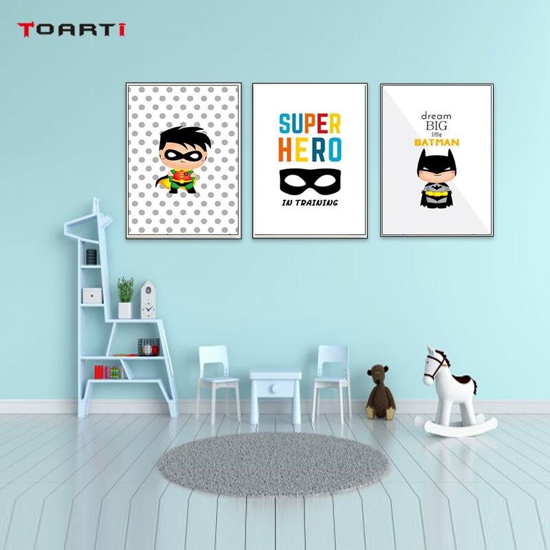 Домашний декор для детской комнаты, Большой Настенный художественный постер и печать, современная живопись на холсте, модульная Настенная картина для детской спальни