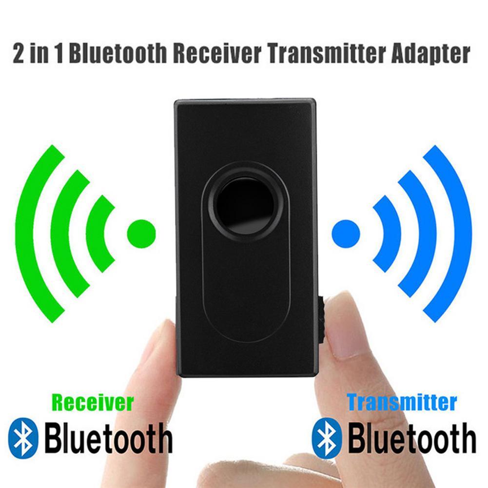 Transmisor receptor Bluetooth, Adaptador inalámbrico de Audio USB, Mini música estéreo, Conector de 3,5mm para TV, PC, coche, Adaptador de auriculares