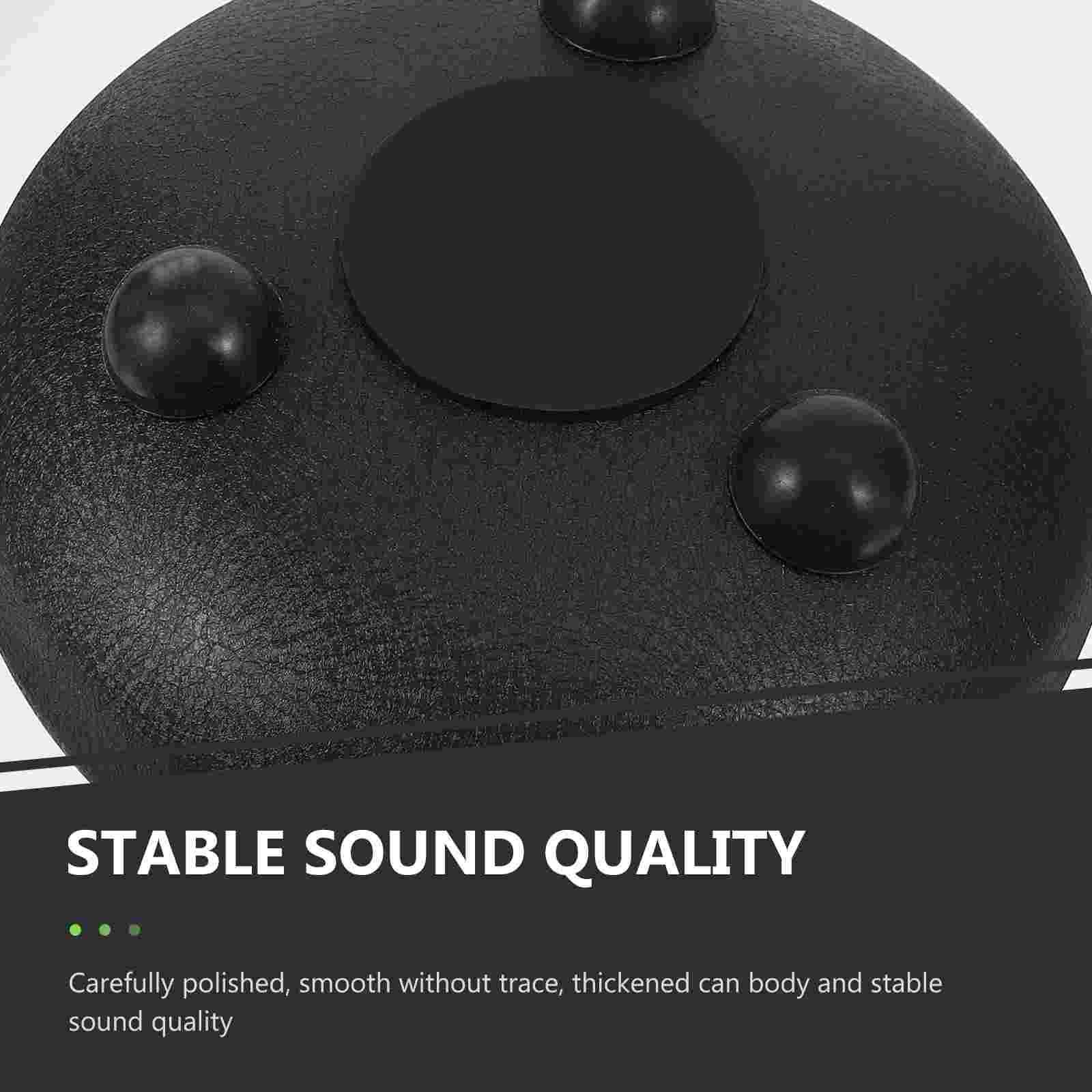 1 Set Ethereal Drum Carbon Steel Tongue Drum Percussion Drum  Instrument Accessories enlarge