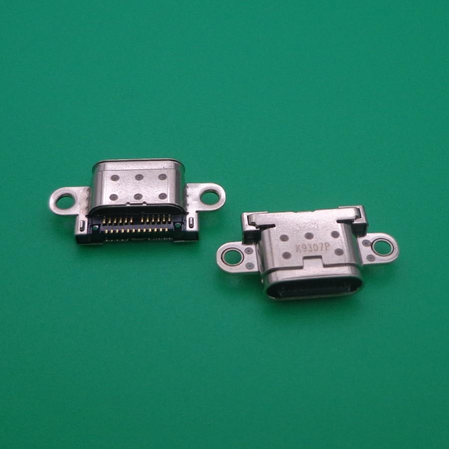 50 قطعة/الوحدة ل LG V30 H930 H933 نوع C البسيطة مايكرو USB ميناء الشحن شاحن موصل التوصيل جاك المقبس حوض
