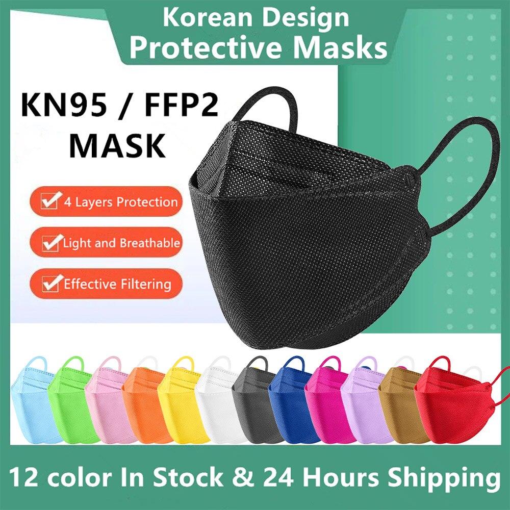 Mascarilla kn95 ffp2mascarilla de protección eficiente, máscara fpp2, fpp2, homologada