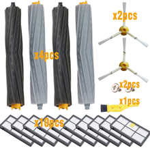 Sweeping robot Accessories HEPA Filters for iRobot Roomba 880 860 870 871 980 990 Replenishment Parts Spare Brushes Kit