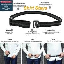 Adjustable Near Shirt-Stay Hot Best Shirt Stays Black Tuck It Belt Shirt Tucked Mens Shirt Stays sujetador de camisa hombre #L10