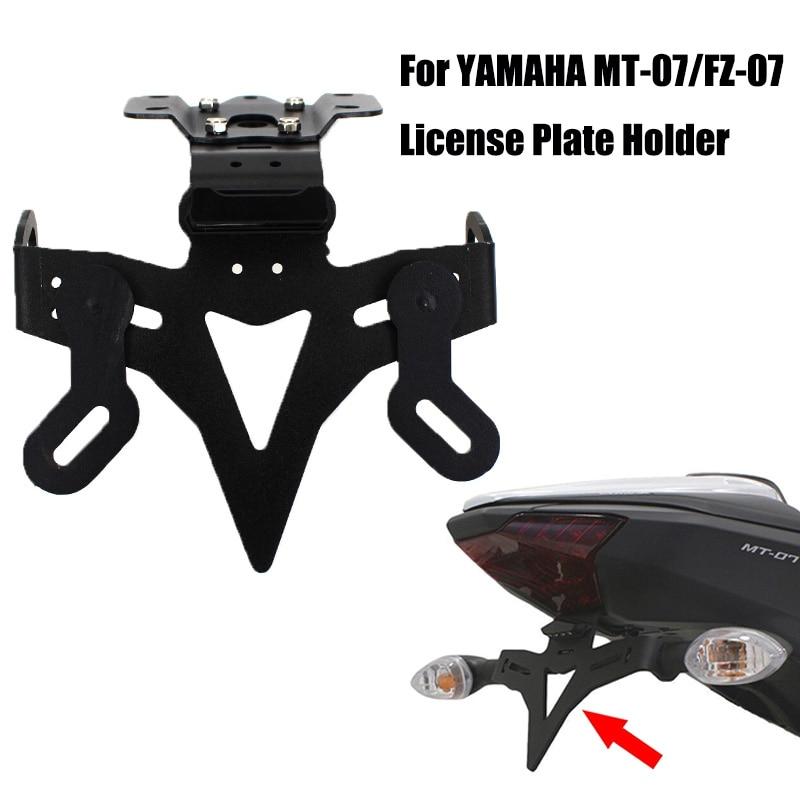 Support de plaque dimmatriculation de moto   Pour Yamaha 2013 MT 07 2019-2014 2018, support denregistrement