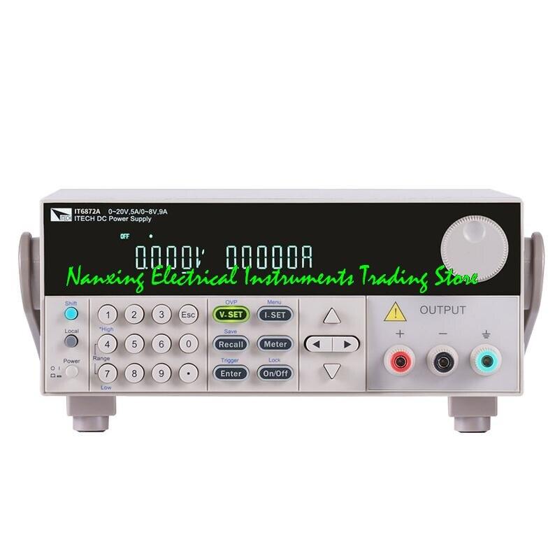 مزود طاقة تيار مستمر قابل للبرمجة ، 75 فولت/2 أمبير/150 واط ، ثنائي النطاق ، خرج فردي ، لـ ITECH IT6873A ، 32 فولت/4 أمبير/128 واط