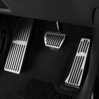 new arrival at accelerator brake foot rest pedal pads for bmw x3 g01 x4 g02 2018 2020 car styling accessories