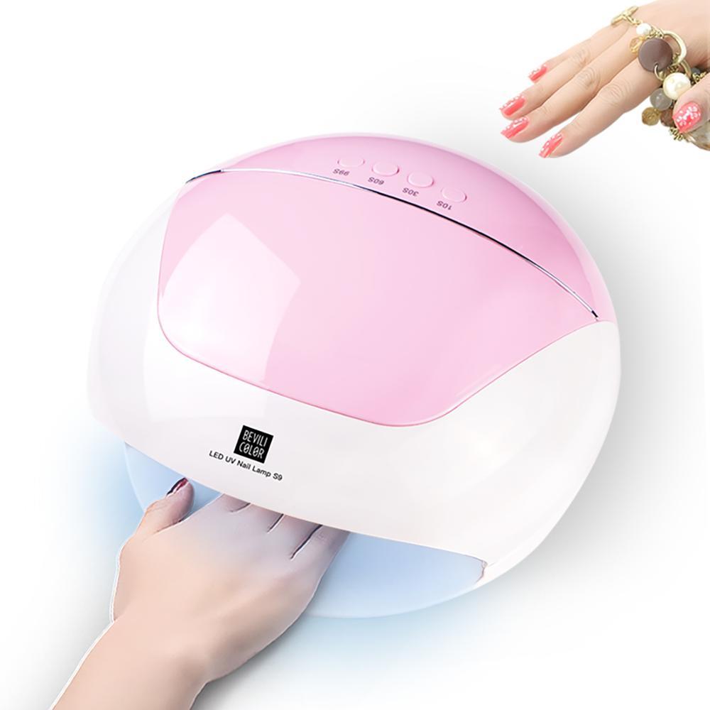 110/54/36W UV Lamp LED Nail Lamp Nail Dryer For All Gels Polish Sun Light Infrared Sensing 10/30/60s Timer Smart For Manicure