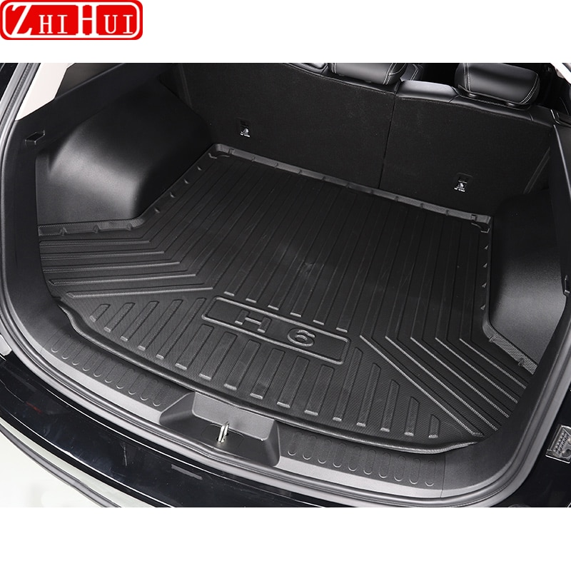 Car Rear Trunk Liner Cargo Boot TPO Trunk Mat Floor Tray Mud Kick Protector Carpet For GWM Haval Hover H6 3th 2021  Accessories enlarge