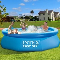 intex family play pool more adult inflatable pool outdoors butterfly swimming pool folding fish pond thickened pvc heighten 2021