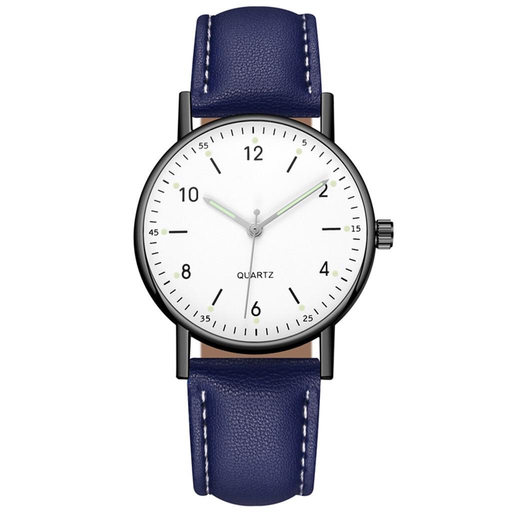 Watch Ladies Women's High-end Male Female Quartz Men Watches Stainless Steel Luminous Dial Leisure Wristwatch Ladies Girls Clock