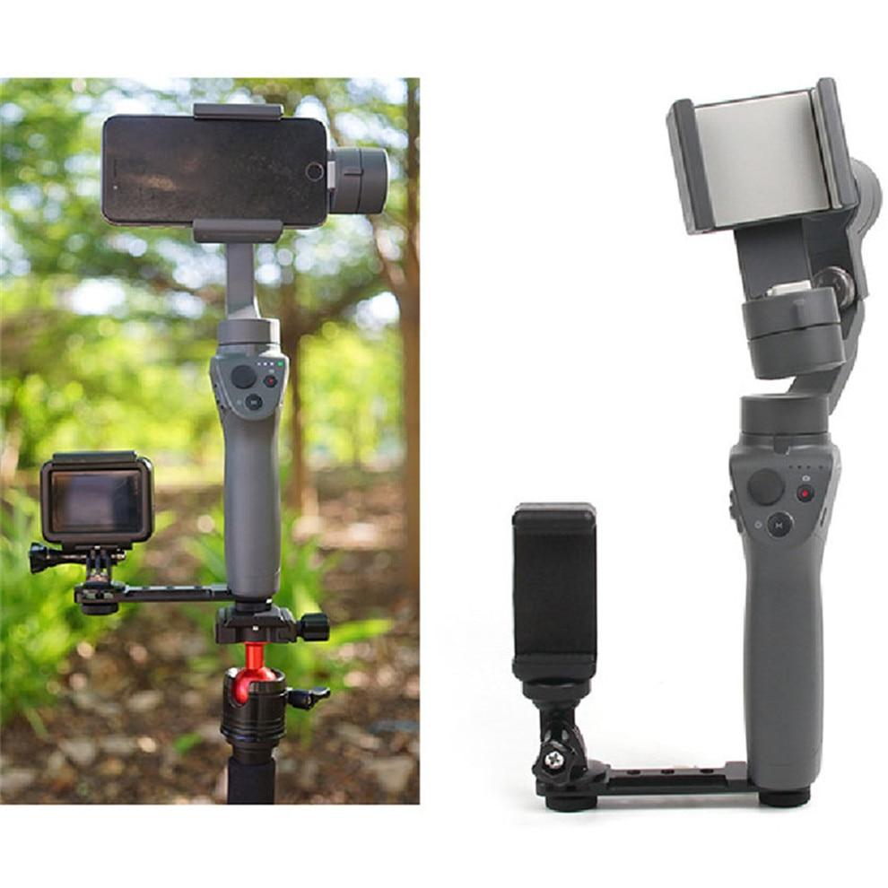 Smartphone Clip Holder Monitor Extension Bracket Support Mount Cilp for DJI OSMO Mobile 2 Handheld Gimbal Camera