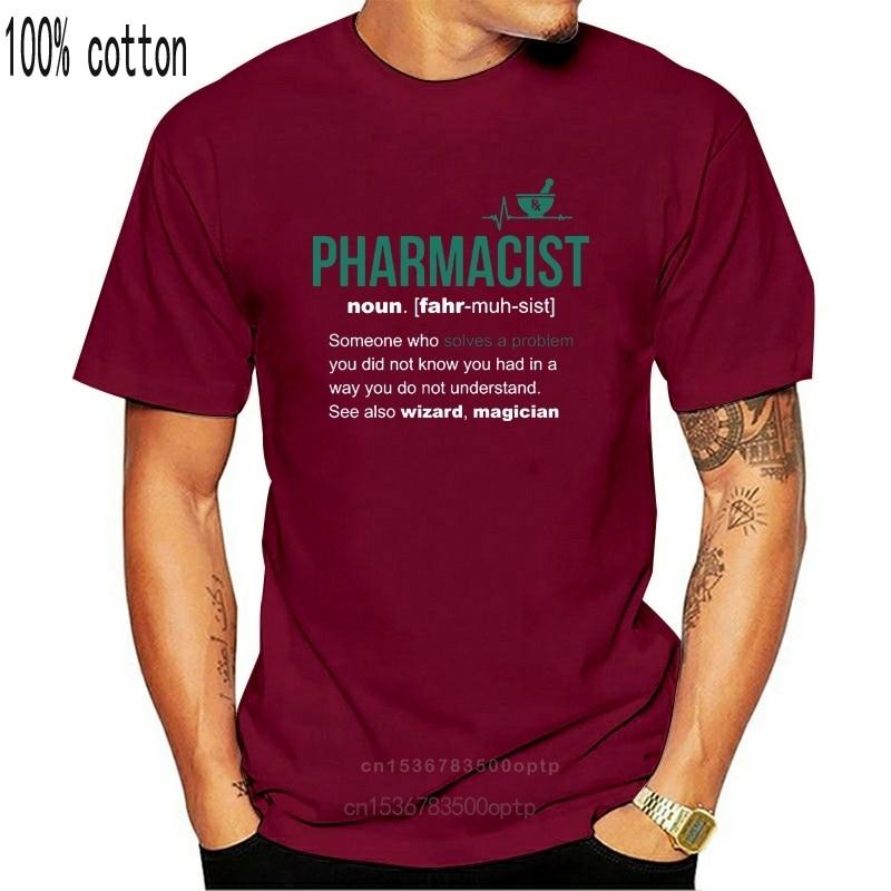 Apotheker Definition Lustige Apotheker T-Shirt 2020 Neue Ankunft Stringer Männer Freies China Post Versand Homme T