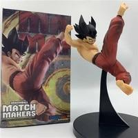 japan cartoon model dragon ball z goku jumping figure model cartoon character