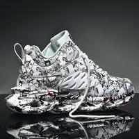 Кроссовки мужские сетчатые дышащие, Классическая Повседневная обувь для ходьбы и бега, легкие