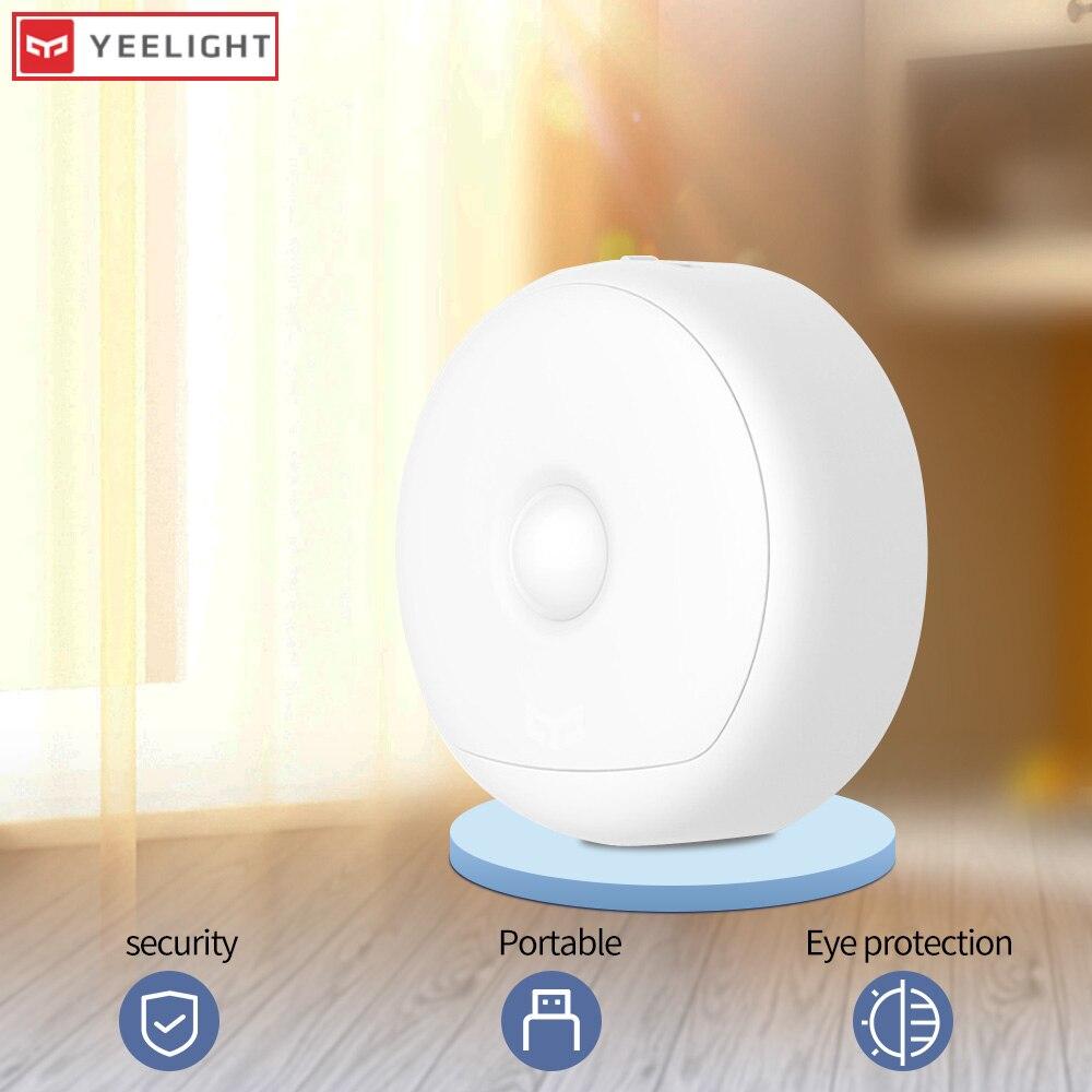 Yee светильник, Ночной светильник, датчик Луны, светодиодная лампа с датчиком движения, умный светильник, управление движением, детская кровать, светильник s